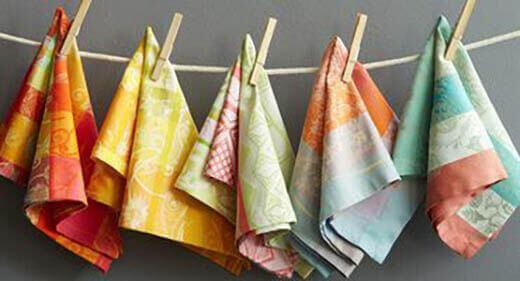 Самые эффективные способы отстирать кухонные полотенца от жира и грязи