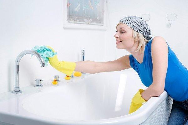 Обработка от грибка в ванной