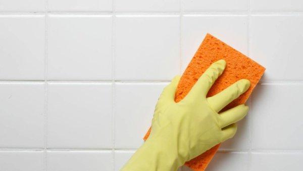 Чем почистить плитку в ванной чтобы блестела