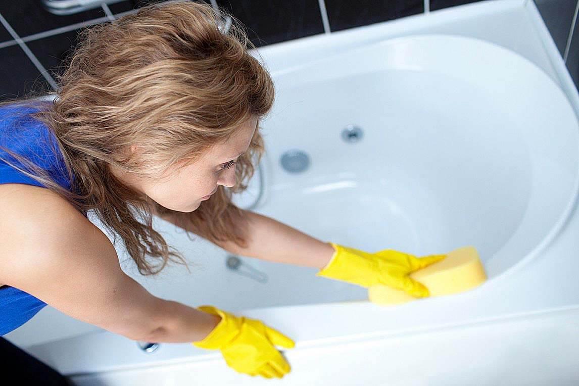 Чем отчистить ванну и хромированные детали от налета и ржавчины