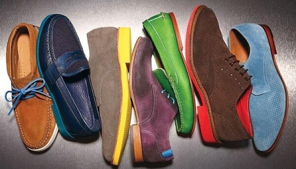 Как правильно чистить обувь из замши
