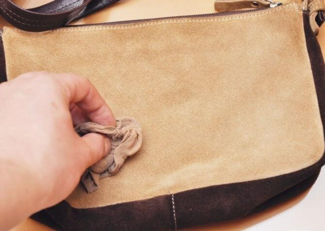 Чем почистить замшевую сумку в домашних условиях 66