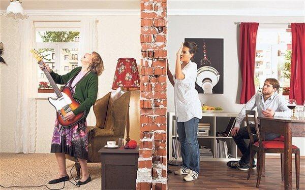 Как отомстить за шум соседям сверху и при этом бесшумно для себя?