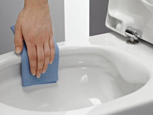 Как очистить унитаз от мочевого камня в домашних условиях