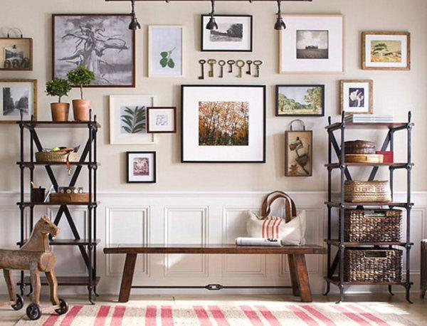 Как быстро повесить картину на любую стену