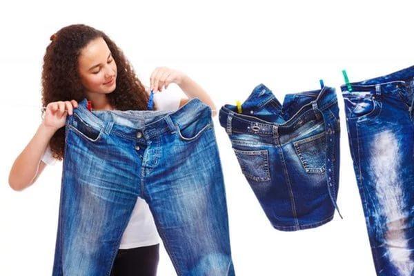 Что делать, если джинсы растянулись или велики