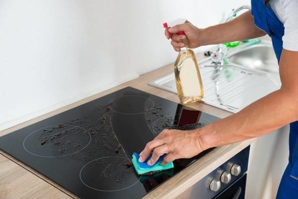 Как очистить стеклокерамику в домашних условиях 78