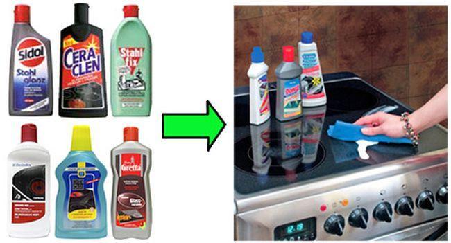 Как очистить стеклокерамику в домашних условиях 23