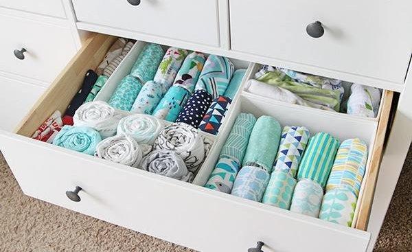 Как компактно сложить вещи в шкафу и навести там порядок