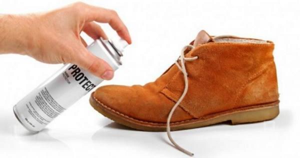 Как восстановить потертую замшевую обувь