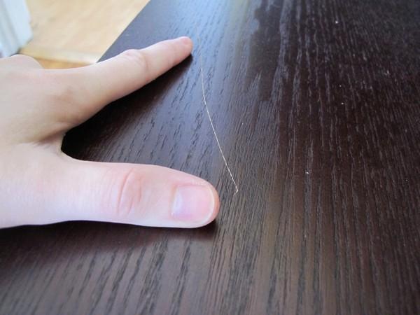 Как убрать царапины на мебели в домашних условиях