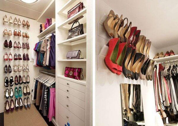 Как хранить обувь, если ее много, а места мало