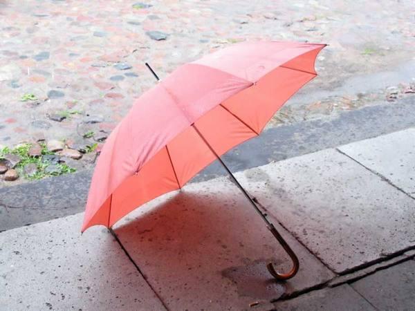 Как правильно сушить зонтик