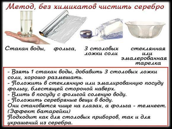 Как почистить столовое серебро в домашних условиях