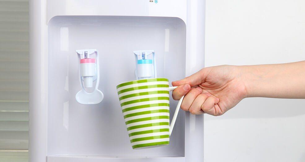 Как самому почистить кулер для воды