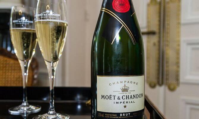 Правила хранения шампанских вин
