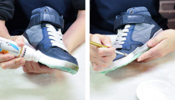 Как выбрать краску для обуви
