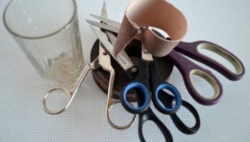 Как в домашних условиях наточить ножницы