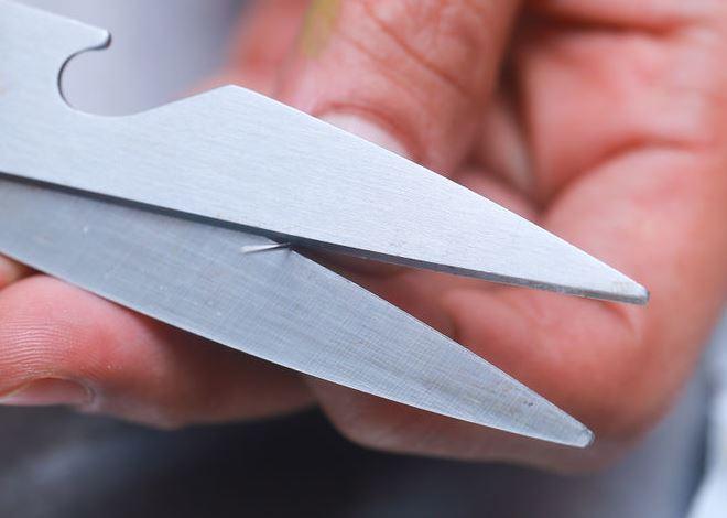 Как можно поточить ножницы