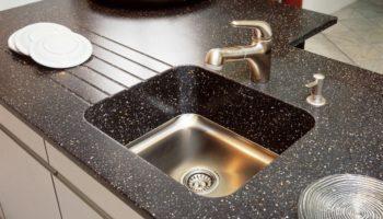 Как ухаживать и чем чистить раковину из искусственного камня