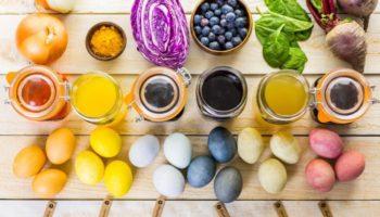 Как покрасить яйца к Пасхе без химии