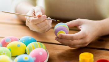 21 способ покрасить пасхальные яйца