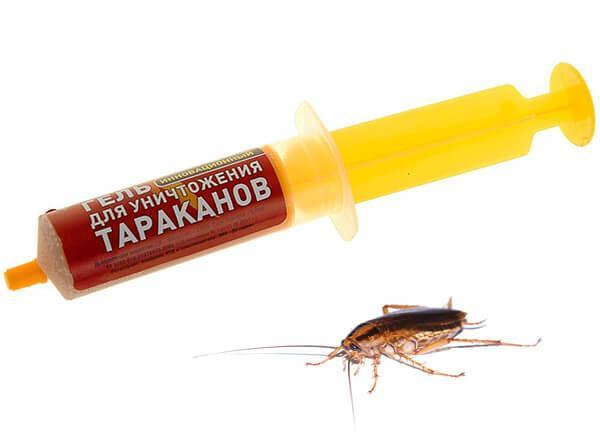 Гель от тараканов тараканофф