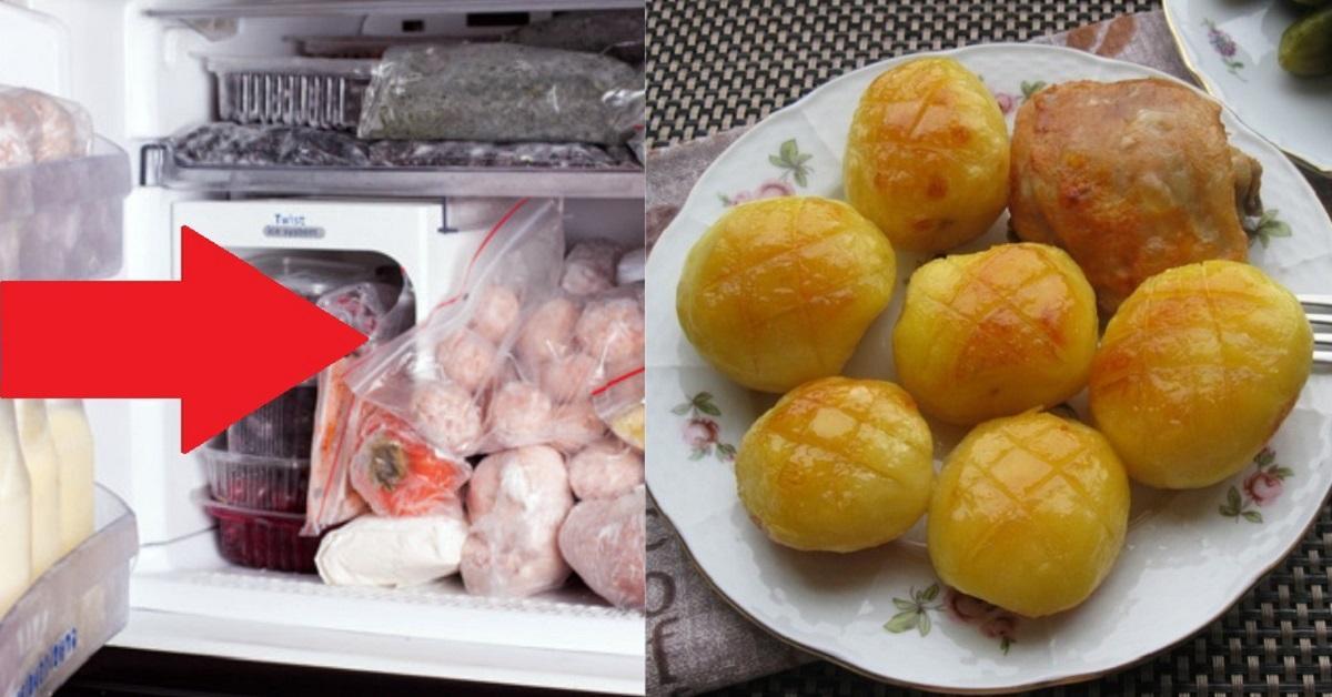 Сколько хранится пюре из картошки в холодильнике