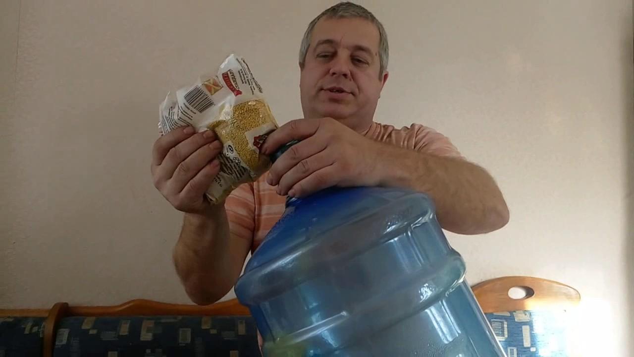 Чем отмыть бутылку из под подсолнечного масла