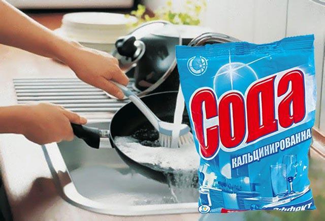 Кальцинированная сода: свойства и применение в быту