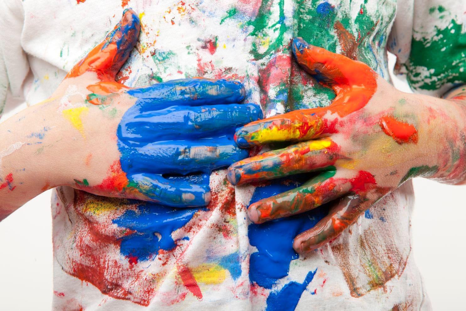 Чем отстирать акварельную краску с одежды