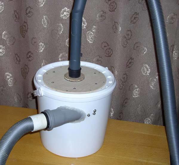 Пылесос циклонный фильтр