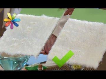 Как почистить искусственный белый мех?